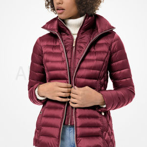 NWT Michael Kors Quilted Nylon Packable Puffer Jac